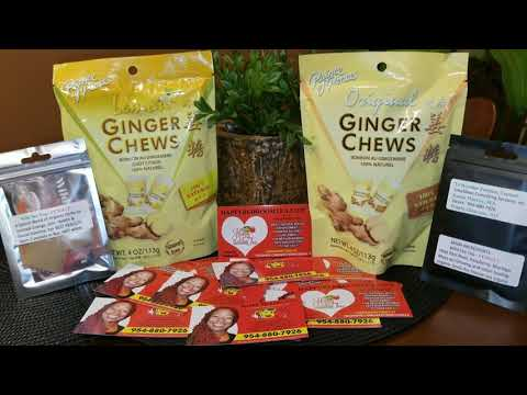 Ginger Chews And Happy Bedroom Tea Help To Tighten Your Vaginal Walls Before Sex!