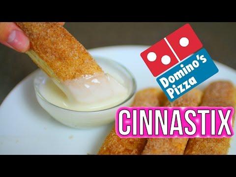 DIY DOMINO'S CINNASTIX!