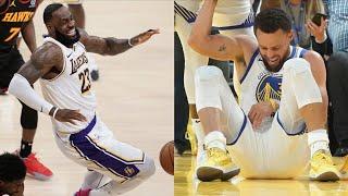 """NBA """"Injured"""" MOMENTS"""