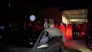 Свадьба в кабриолете