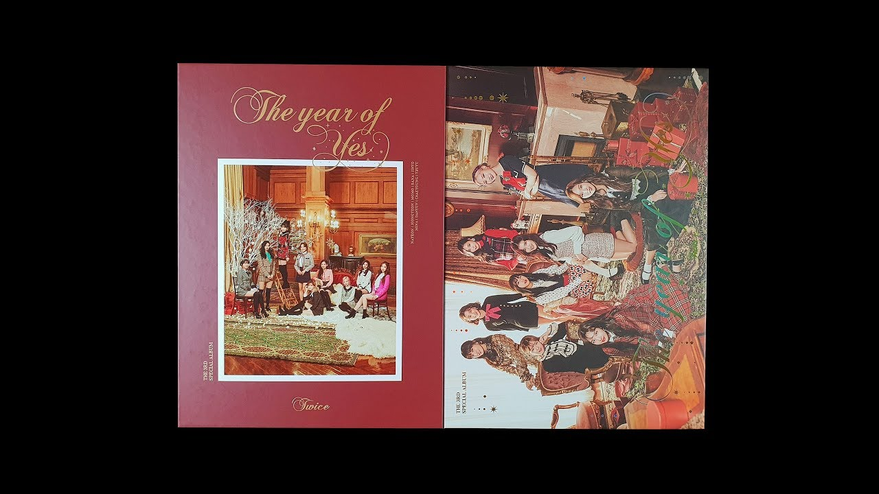 [Unboxing] 트와이스 3rd 스페셜 앨범 The Year of Yes (TWICE 3rd Special Album The  Years of Yes) : 올해 제일 잘한 일