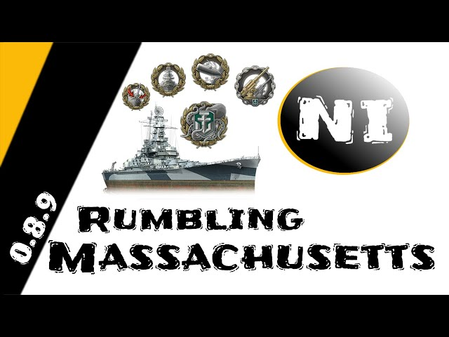 WoWS - Rumbling Massachusetts
