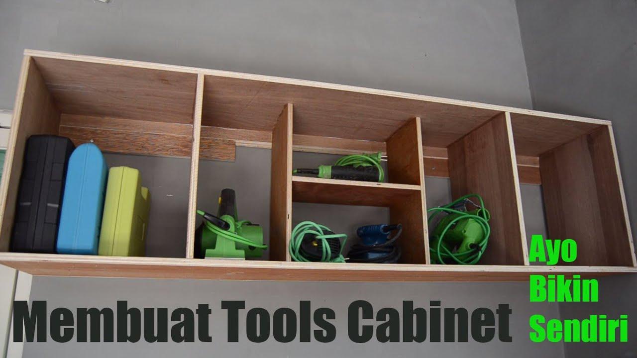 Membuat Tools Cabinet  Lemari peralatan  YouTube