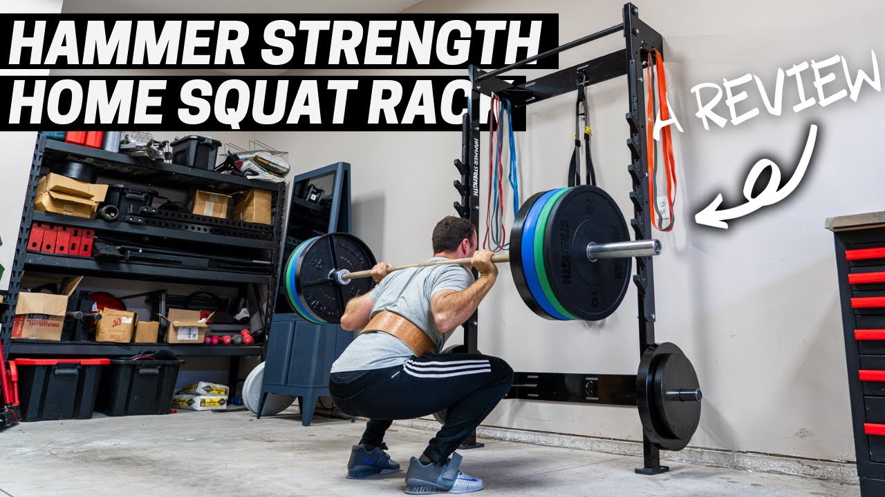The Hammer Strength Home Squat Rack Review - Honest Thoughts...