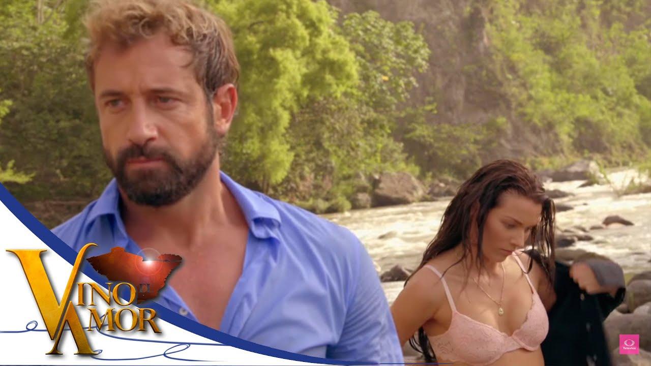 Luciana Y David Discuten En El Rio Vino El Amor Youtube