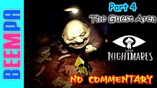 Little Nightmares Gameplay - Little Nightmares Walkthrough Part 4 Full Game 1080p HD - No Commentary