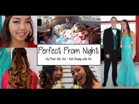 Get Ready With Me Prom 2013 | Hair, Makeup, Dress, Date, + MY BEST YES ASK OUT!