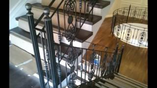 кованая лестница(Заказать кованую лестницу в Москве от производителя., 2016-05-11T05:00:33.000Z)