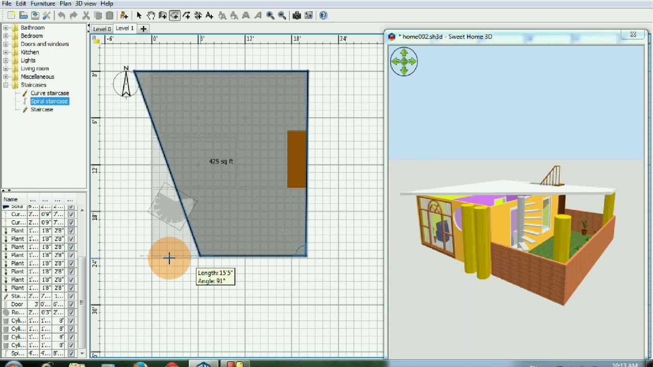Since the latest update of windows 10, sweethome 3d does not open anymore. Sweet Home 3d Part 2 How To Make House Plan Youtube