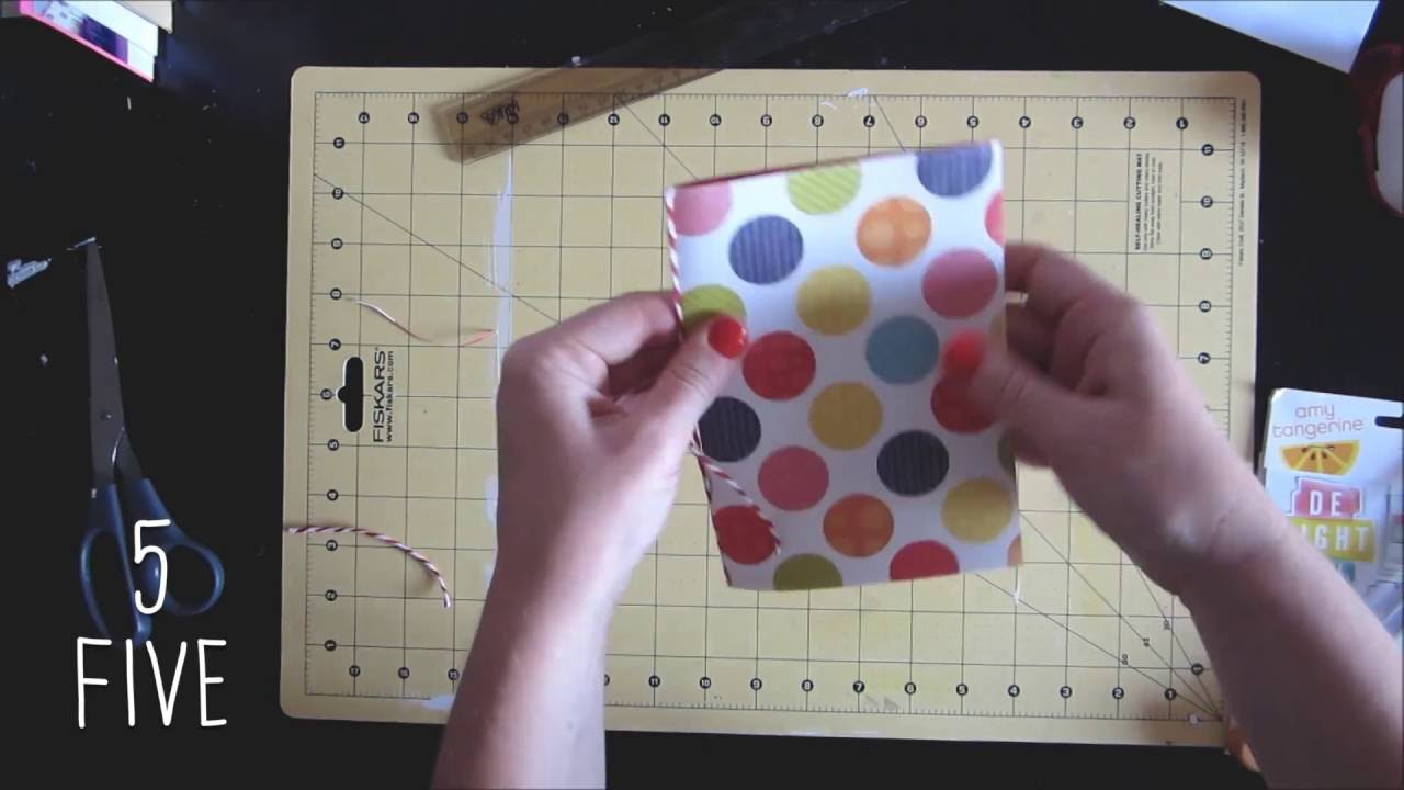 How to make scrapbook easy - Scrapbook Tutorial How To Make A Notebook In 5 Easy Steps