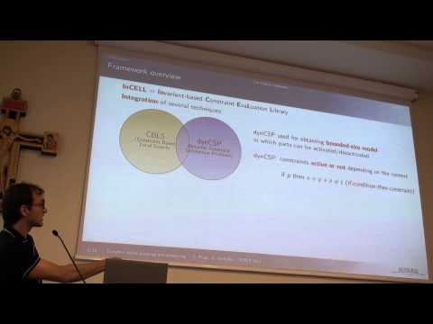 ICAPS 2013: Cédric Pralet - Dynamic Online Planning and Scheduling Using a Static ...
