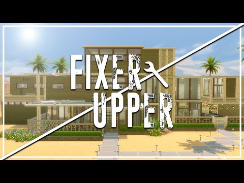 LANDGRAAB MANSION // The Sims 4: Fixer Upper - Home Renovation