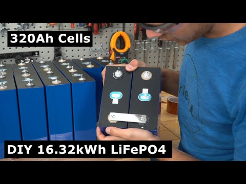 DIY 48V 320Ah Grade B LiFePO4 Battery Build: 16kWh for $2,810?!