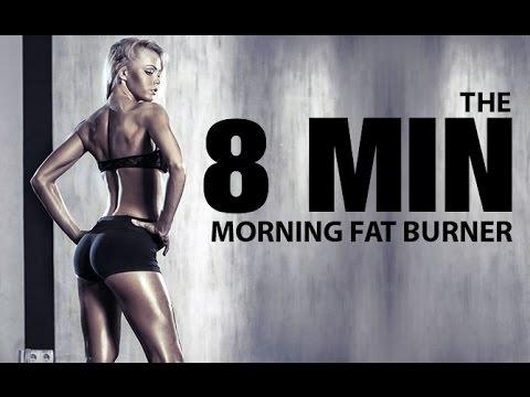 8 MINUTE MORNING Workout (Fast Morning FAT BURNER!!)