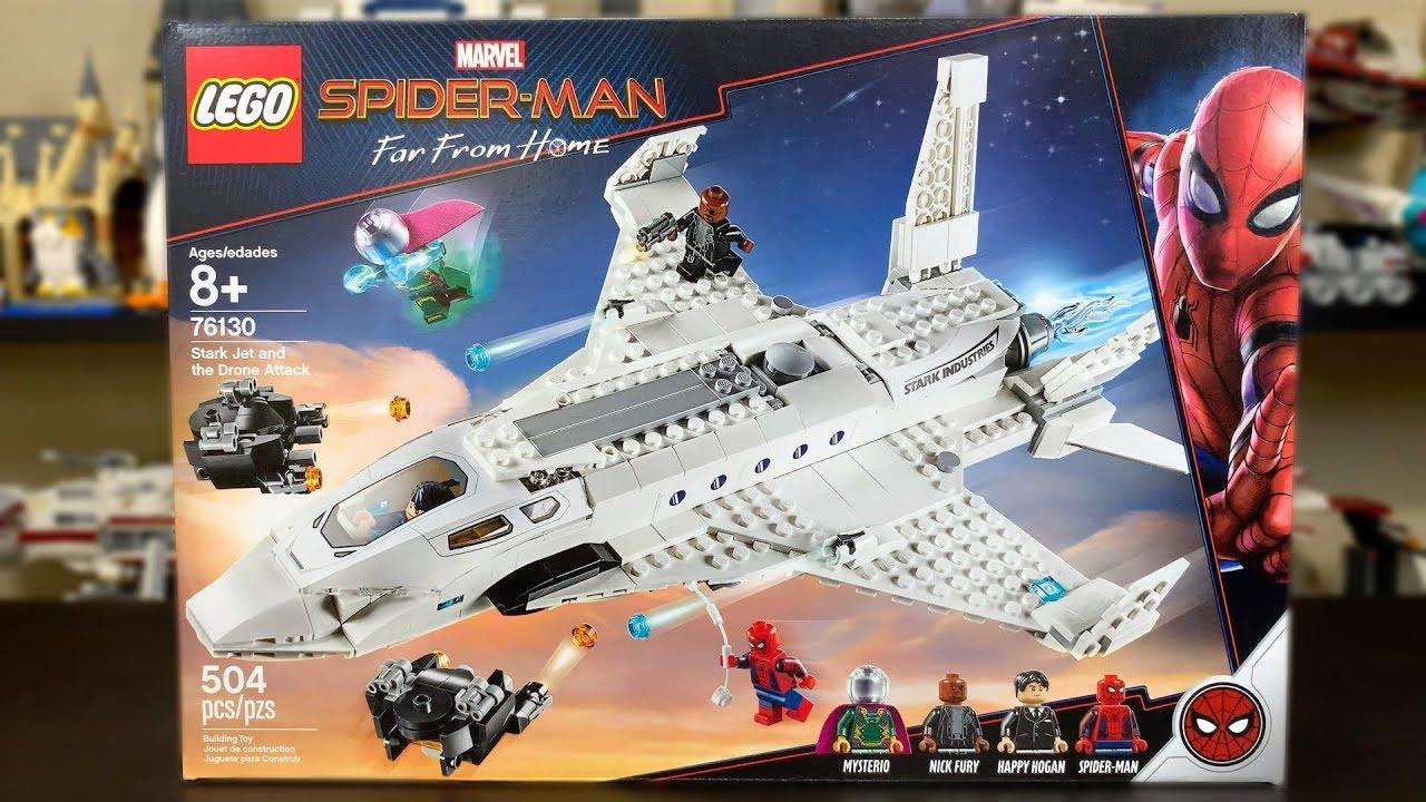 LEGO Spider-Man Far From Home Nick Fury Minifigure 76130 Mini Fig