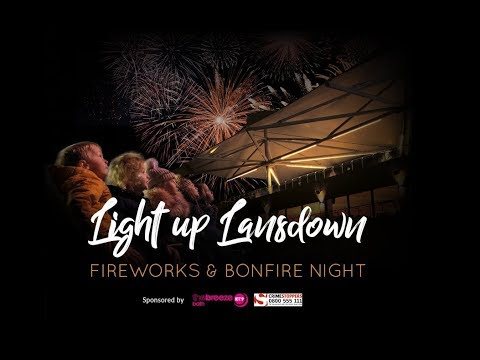 light up lansdown bath fireworks display and bonfire night youtube