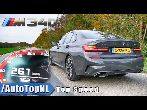 BMW M340i XDrive | 0-261KMH 0-162MPH | ACCELERATION TOP SPEED & LAUNCH CONTROL By AutoTopNL
