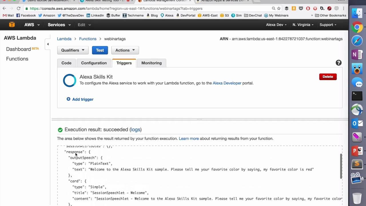 Using Speech Synthesis Markup Language (SSML) in Alexa Skills