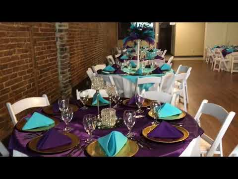 Glam Peacock and Bling themed Birthday Party