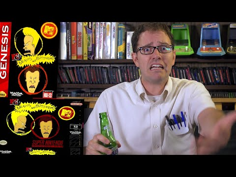 Beavis and Butthead - Angry Video Game Nerd (AVGN)