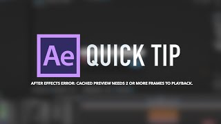 How to Fix After Effects Goat Error
