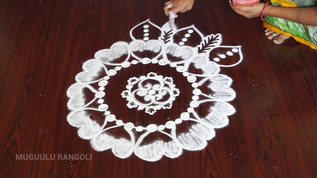 simple and best rangoli designs simple beautiful