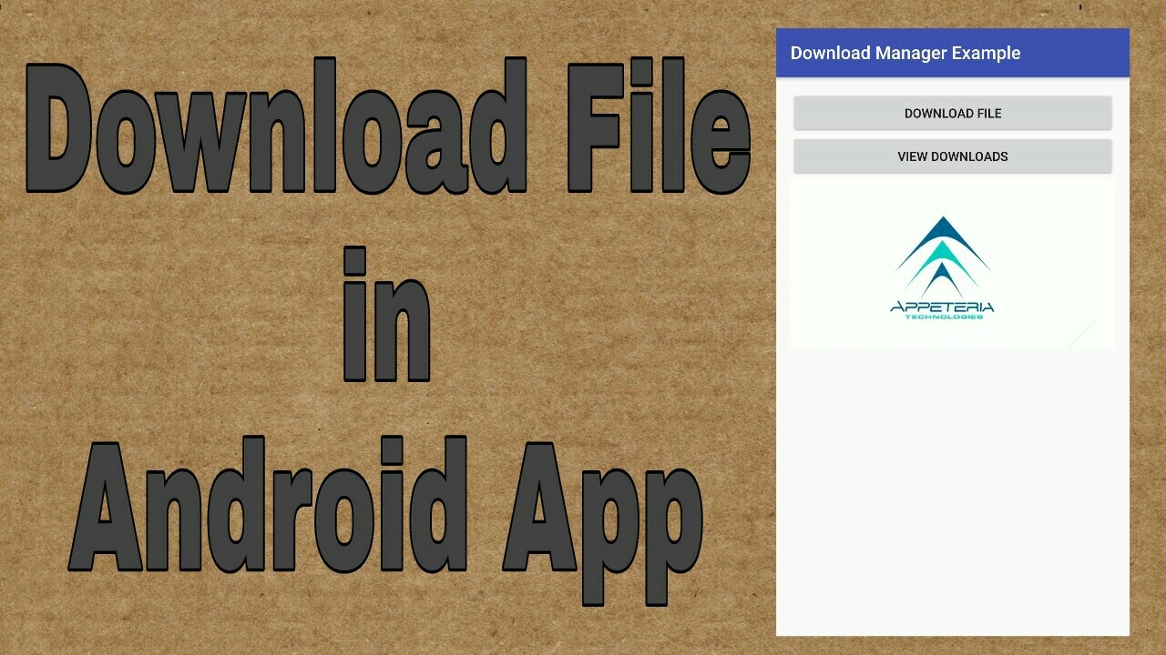 Download File in Android App