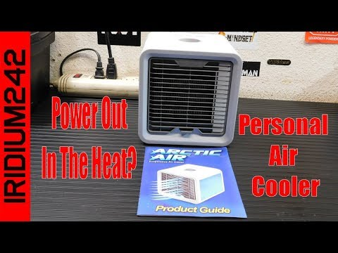 Arctic Air Personal Air Cooler: Perfect For Summer Power Outages!