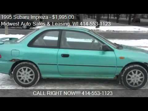 1995 Subaru Impreza L AWD Coupe