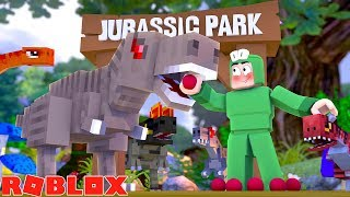 ROBLOX - THE JURASSIC WORLD TYCOON - MY OWN PARK!