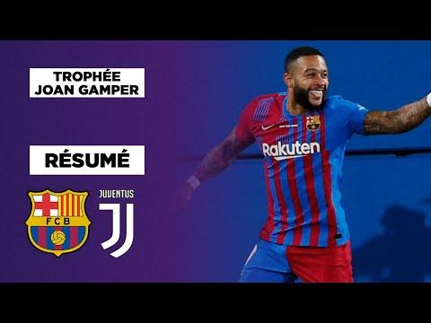 Résumé : Sans Messi, le Barça bat la Juventus et remporte le Trophée Joan Gamper, Depay en feu !