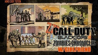 GIRLFRIEND PLAYS ZOMBIES #1- BLACK OPS 3 KINO DER TOTEN W/ RANDOMS! (BO3 Zombies)