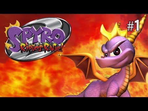 Twitch Livestream | Spyro 2: Ripto's Rage! 100% Playthrough Part 1 [Playstation 1]