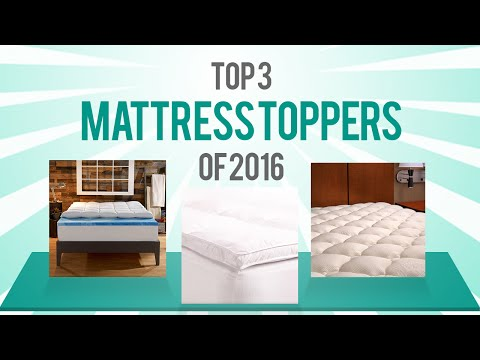 Best Mattress Topper Reviews of 2016