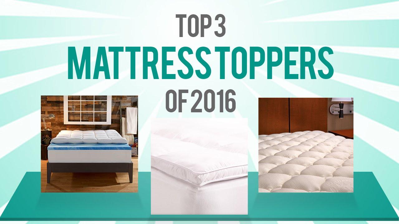 Best Mattress Topper Reviews Of 2016