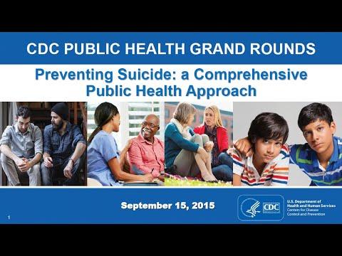 Preventing Suicide: A Comprehensive Public Health Approach