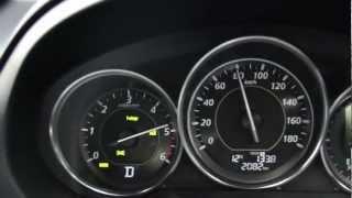 【WOT→100km/h】 マツダ Newアテンザ ディーゼル 6AT 0-100加速
