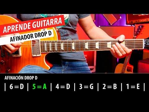 Afinador Drop D | Guitarraviva