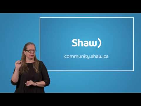 ASL How to Reset your Shaw Digital Cable Box to fix an issue