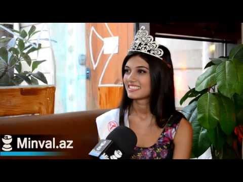 Интервью с Miss Azerbaijan-2014