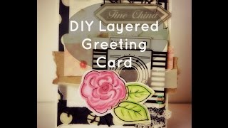 Diy Layered Greeting Card