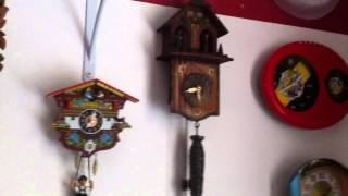 Repeat youtube video my clock collection (my room only) part 3