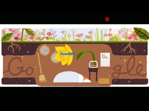First Day of Spring 2017 (Northern Hemisphere) March 20, 2017 today Google doodles news