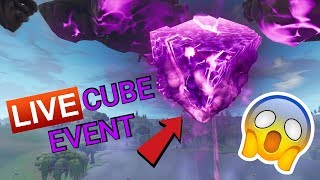🔴LIVE Fortnite || LIVE CUBE EVENT || KAB-LLAMA Spray Giveaway At 2k Subs