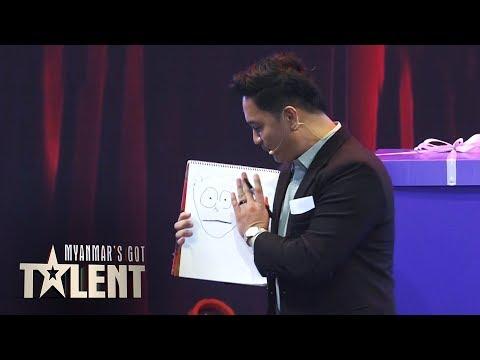 Damien: Semi Final   Myanmar's Got Talent 2019