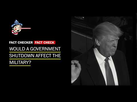 Download Youtube: No, the military won't shut down if the government does