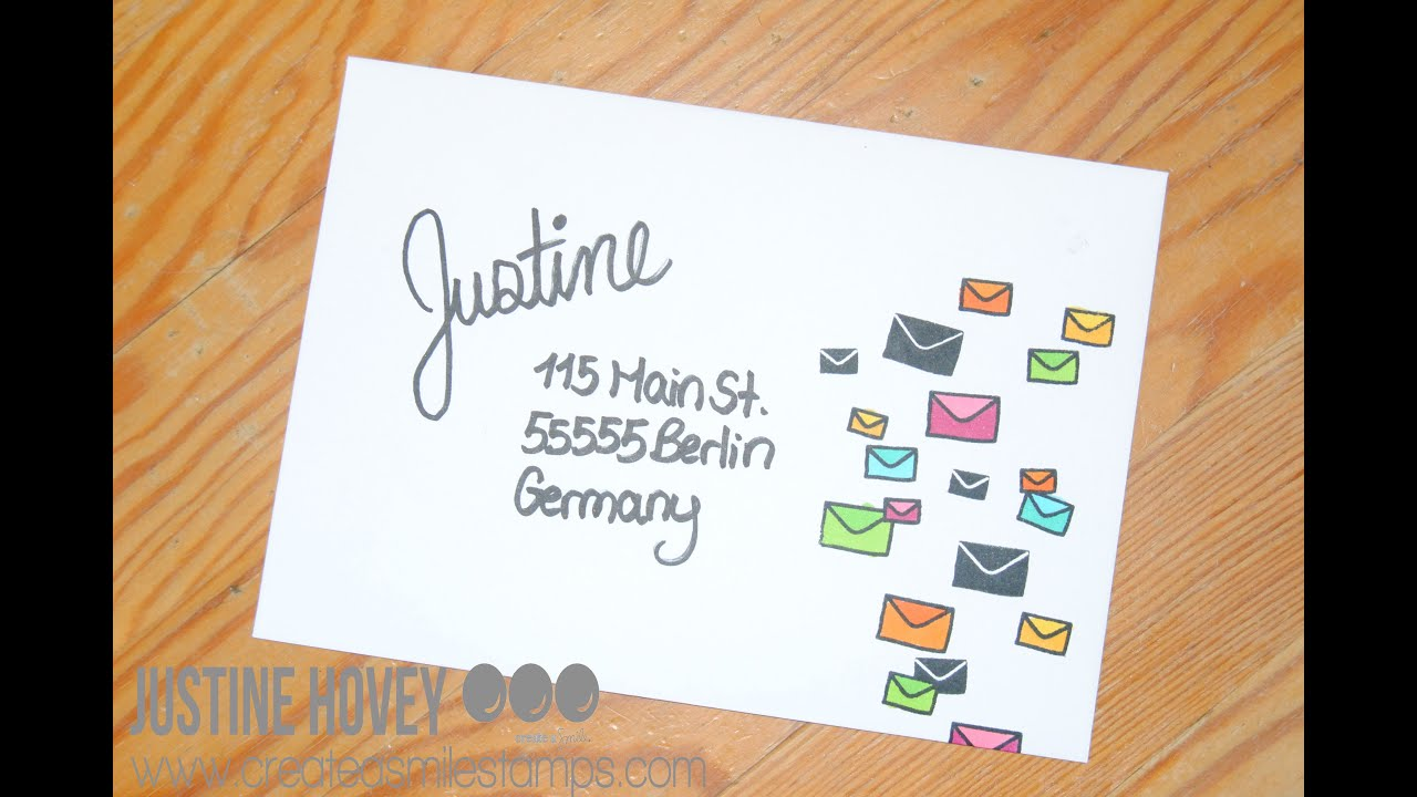 9 Ways To Design Yours: Fun Ways To Decorate Your Envelopes!