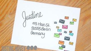 Fun Ways to Decorate your Envelopes!