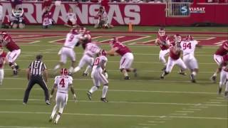 Alabama's Non-Offensive Touchdowns, 2016 (Games 1 - 7)
