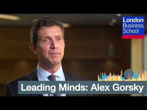 Leading Minds: Alex Gorsky on Innovation | London Business School